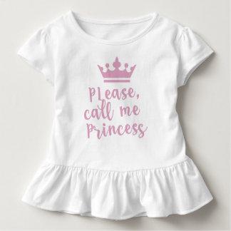 Please Call Me Princess Toddler T-Shirt