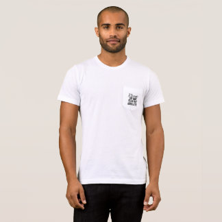 Please Do Not Feed The Aerialists Pocket T-shirt
