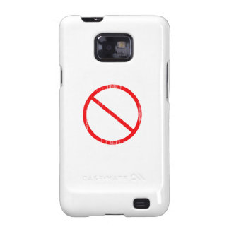 Please Don't Feed the Animals (Republican) - Faded Samsung Galaxy SII Case