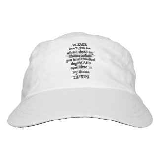Please Don't Give Advice Hat