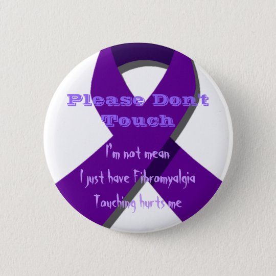 Please Don't Touch Me 6 Cm Round Badge