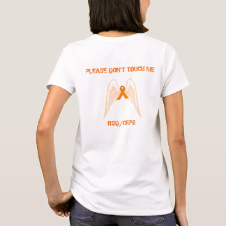 """""""Please Don't Touch Me: RSD"""" Tshirt wings on back"""