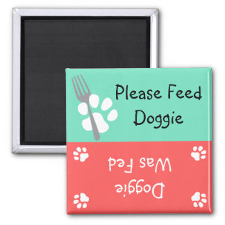 Please Feed Doggie Magnet