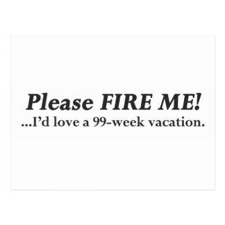Please Fire Me.pdf Postcard