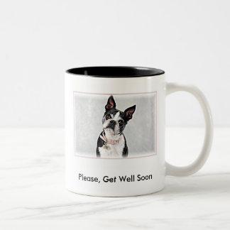 Please, Get Well Soon Two-Tone Mug