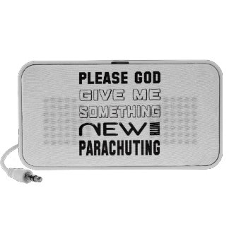 Please give me something new with Parachuting Travel Speaker