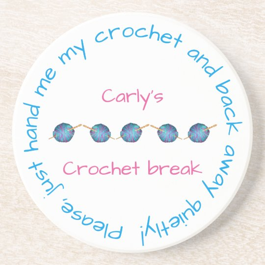 Please hand me my crochet  with your