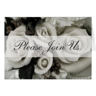 Please Join Us - Invitation Greeting Card