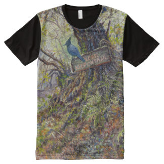 """Please Keep On the Trails"" T-Shirt"