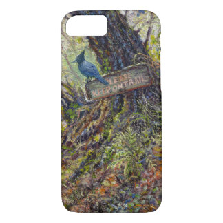 """""""Please Keep on Trails"""" Phone Case"""