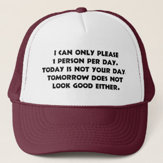Please Only 1 Person 2 Hat