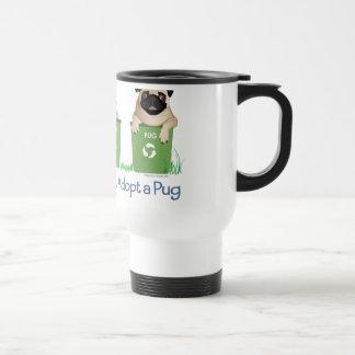 Please Recycle, Adopt A Pug Mug
