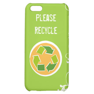 Please Recycle iPhone 5C Case
