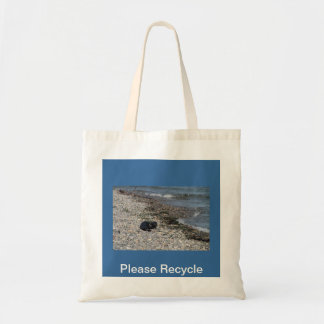 Please Recycle Seal Canvas Bag