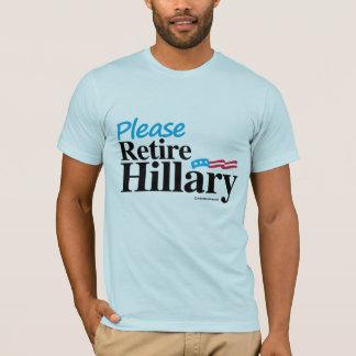 Please Retire Hillary T-Shirt
