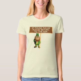Please return to the bar-funny Irish T-Shirt