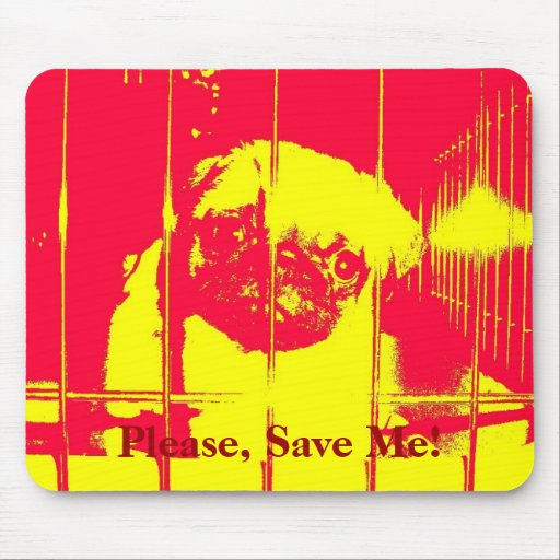 Please, Save Me! Mouse Pad