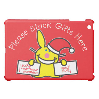 Please Stack Gifts Here iPad Mini Covers