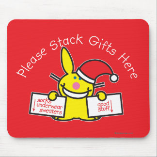 Please Stack Gifts Here Mouse Mat