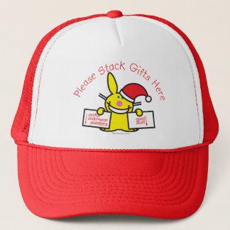 Please Stack Gifts Here Trucker Hat