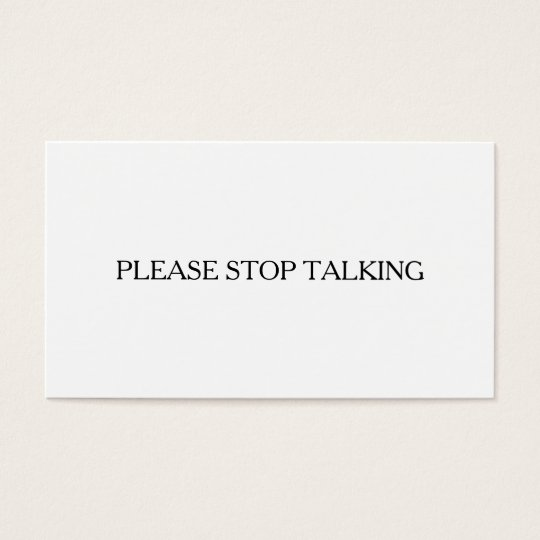 Please Stop Talking Introvert to Extrovert Funny Business