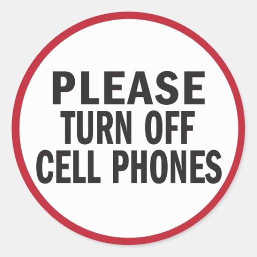 turning off phone