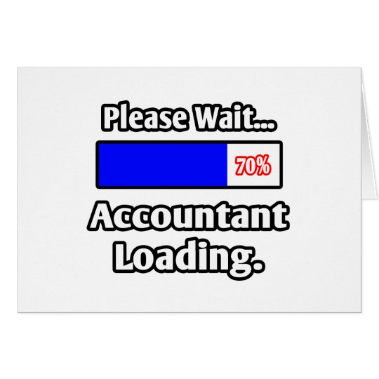 Please Wait...Accountant Loading Card