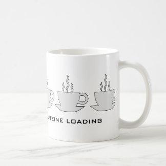 Please Wait Caffeine Loading Coffee Mug