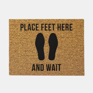 Please wait! doormat