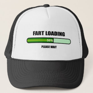 Please Wait Fart Now Loading Trucker Hat