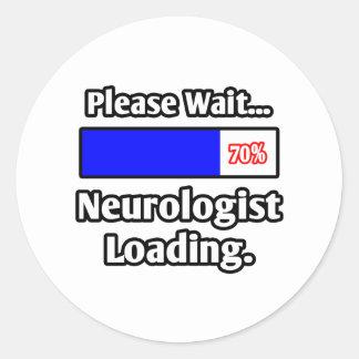 Please Wait...Neurologist Loading Round Sticker