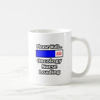 Please Wait...Oncology Nurse Loading Coffee Mug