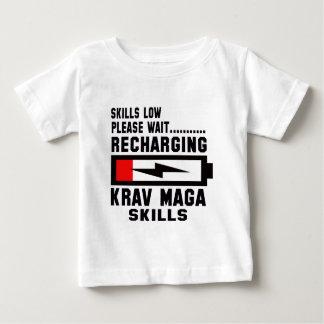 Please wait recharging Krav Maga skills Tshirt