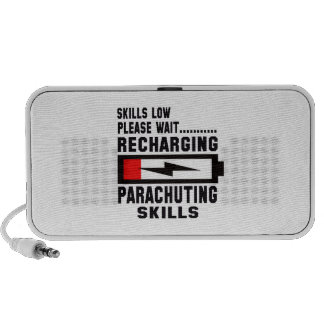 Please wait recharging Parachuting skills Notebook Speakers