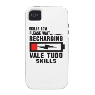Please wait recharging Vale Tudo skills iPhone 4 Case