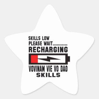 Please wait recharging Vovinam vie vo dao skills Star Sticker