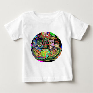 Pleasure Grid Ovel - Pride Art Baby T-Shirt