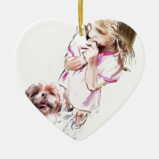 pleasure of love christmas ornament