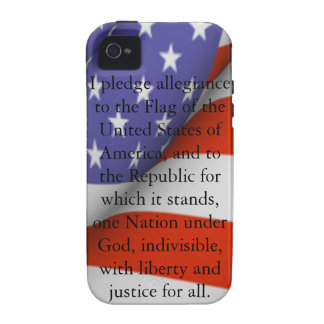 Pledge of Allegiance iPhone 4/4S Cases