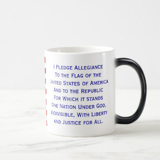 Pledge of Allegiance Flag Mug
