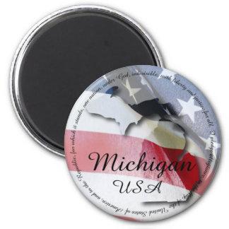 Pledge of Allegiance & Michigan Magnet