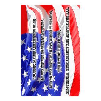 Pledge of Allegiance Stationery