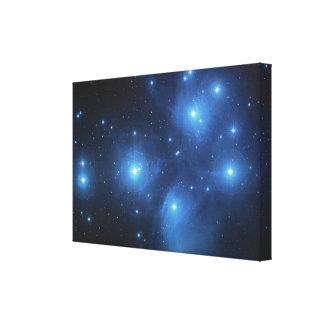 Pleiades Astronomy Space NASA Canvas Print