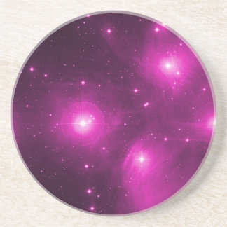 Pleiades in Pink Coasters