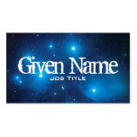 Pleiades Profile Card Pack Of Standard Business Cards
