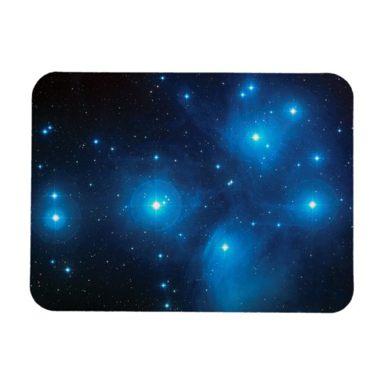 Pleiades Rectangular Photo Magnet