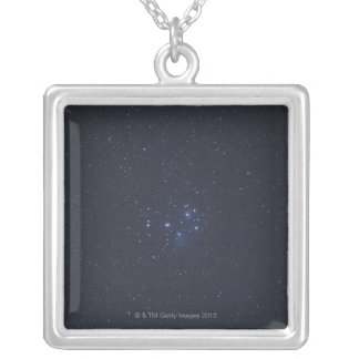 Pleiades Silver Plated Necklace