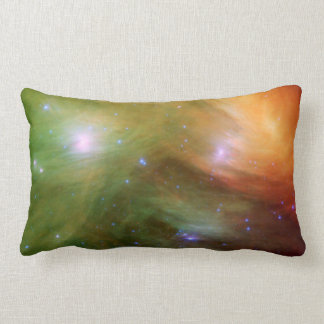 Pleiades stars in infrared lumbar pillow