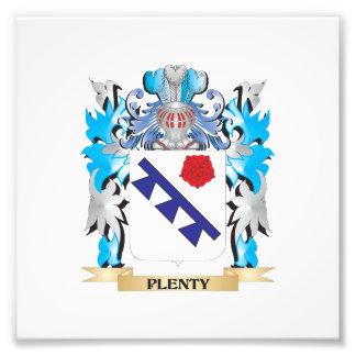 Plenty Coat of Arms - Family Crest Photo Art