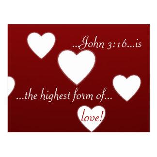 Plenty of heart! post card